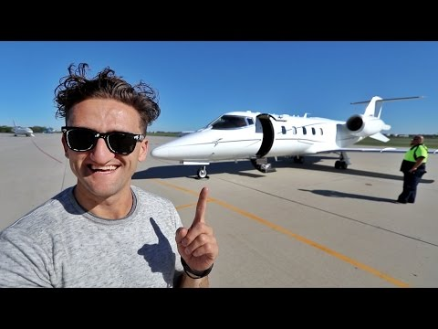 MY OWN LEAR JET!!