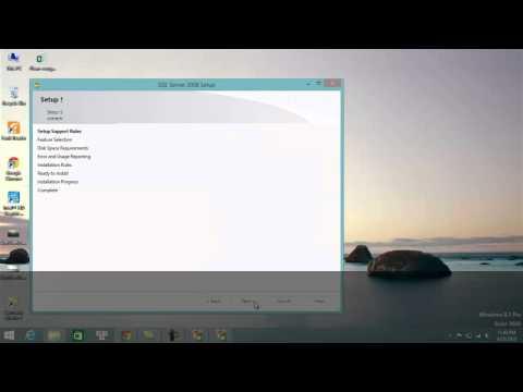 Lab#1 Installing SQL Server 2008 on Windows 8.1 (Personal) - FIT - HCMUS