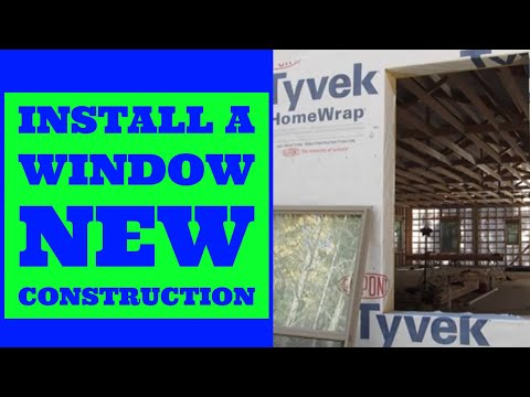 How To Install A Window Double Hung New Construction