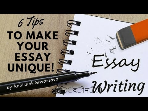 6 Essay Writing Tips in Hindi To Make your Essay Unique! | Essay Writing for Government Exams