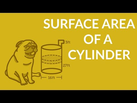 ʕ•ᴥ•ʔ Surface Area of a Cylinder - Understand in 3 minutes