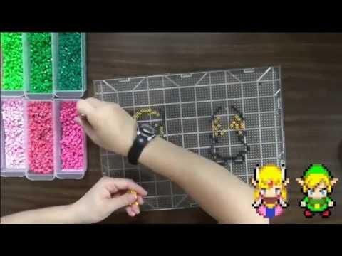 Speed Beading - Link and Zelda Inspired by Legend of Zelda