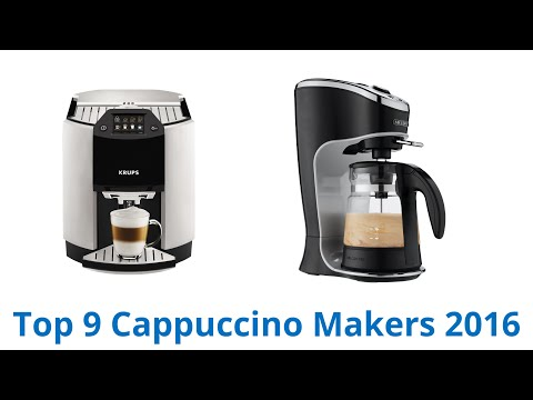 9 Best Cappuccino Makers 2016