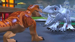 LEGO Jurassic World Walkthrough Part 20: Jurassic World Ending (Jurassic World)