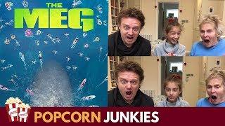 The Meg Trailer Family Reaction & Review