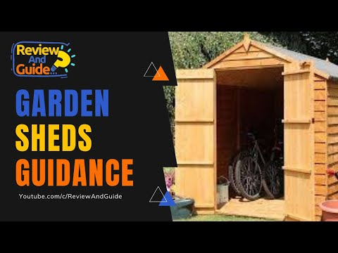 Garden Sheds, Wooden Sheds, Metal Sheds & Plastic Sheds
