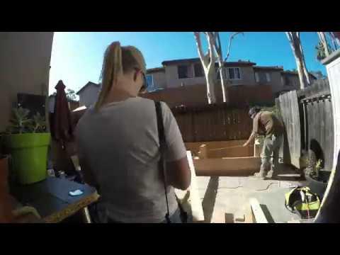 Planter Bench Build - 2017