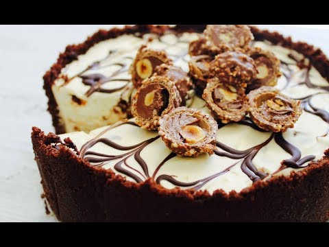No-bake Ferrero Rocher cheesecake recipe