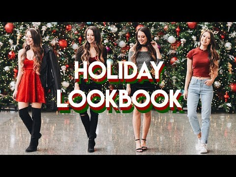 Holiday Party Lookbook // 4 Perfect Holiday Outfits!