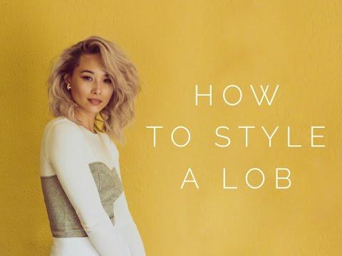 How To Style A Lob - Short Hair Tutorial | Aja Dang