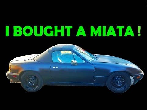 I bought a $1,200 Miata. This should be fun...
