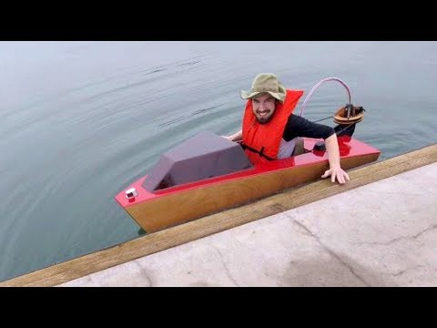 Mini Boat - First Launch