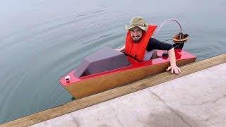 Mini Boat - First Launch
