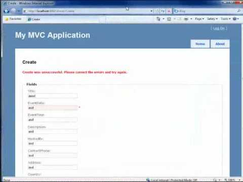 What is ASP.NET MVC? 80 minute technical video for developers, building NerdDinner PART3
