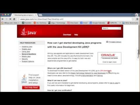Installing Java 7 on Mac OS X 10.9