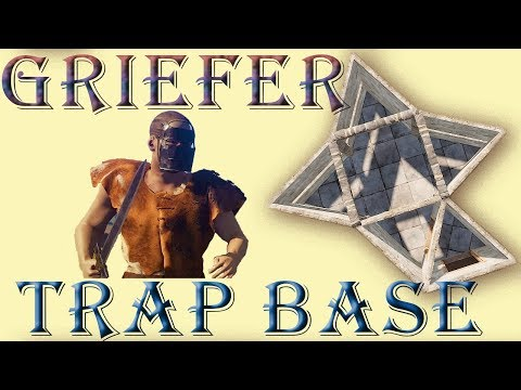 Trap Base for Raiders and Griefers I Rust Base Design Tutorial I Building 3