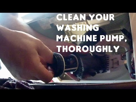 How to Give Water Drain Pump a Thorough Clean - Indesit Washing Machine
