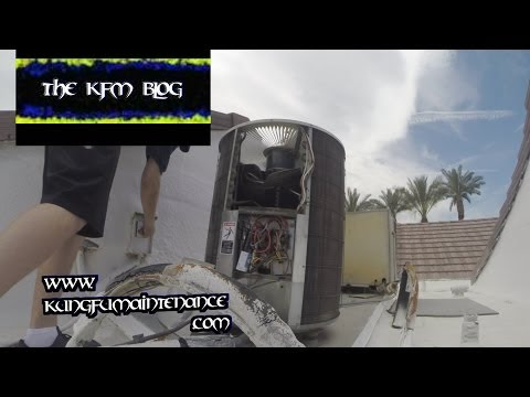 Air Conditioner Fan Spinning Wrong Direction How To Change AC Spin HVAC Repair Video