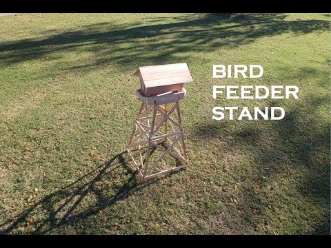 A Stand for My Bird Feeder