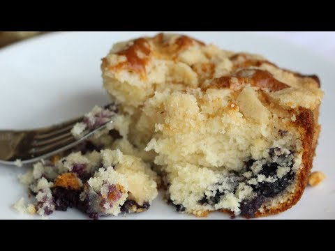Moist Blueberry Coffee Cake | Starbucks Copycat