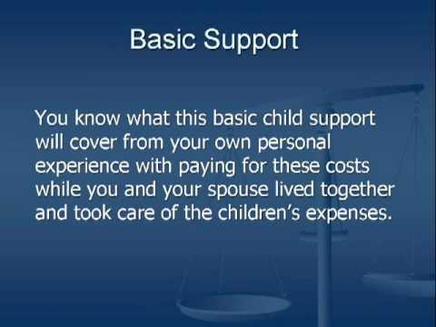 Florida Child Support -- What Does It Pay For?