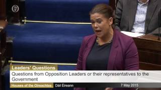 Mary Lou McDonald savages Joan-the-moan Burton in Dail Eireann, over water taxes.