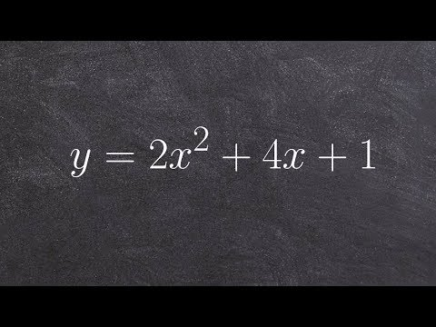Learn two different ways to find the vertex and axis of symmetry