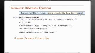 Mathematica Experts Live: Solving Differential Equations in Mathematica