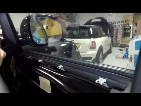 How to remove Front Door Cards on Range Rover L405