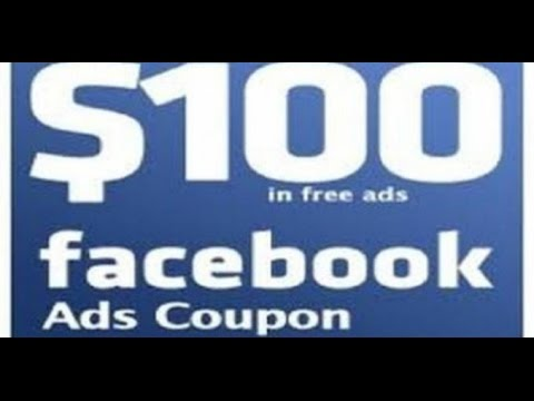 Buy $100 Facebook Ad Coupon Code for $12
