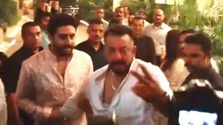 Sanjay Dutt Gets DRUNK At Amitabh Bachchan Diwali Party 2016