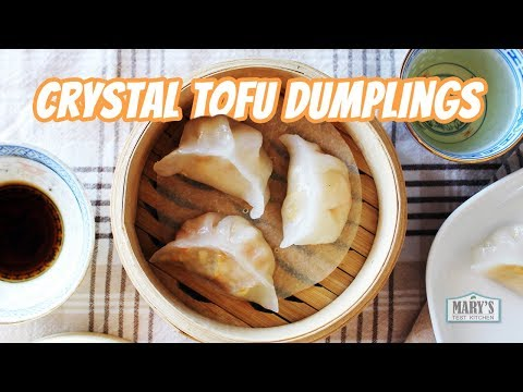 CRYSTAL TOFU DUMPLINGS (Vegan Har Gow Recipe) | Mary's Test Kitchen