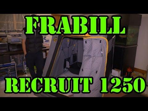 Frabill Recruit 1250 Flip-Over Ice Fishing Shelter