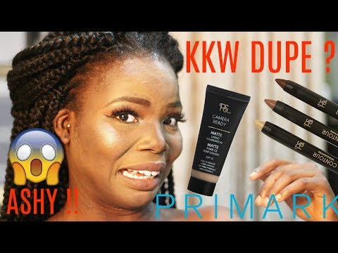 Testing Primark Makeup On Dark Skin HILARIOUS FAIL 2017 | MsDebDeb