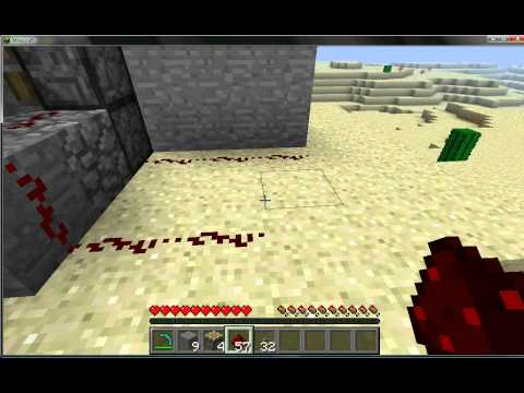 Minecraft: How to Make a Piston Door Without Sticky Pistons