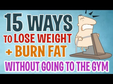 15 Ways To Lose Weight & Get Rid Of Belly Fat (No Gym)