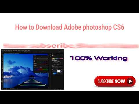 How to get photoshop CS6 for free, 100% WORKING, 100% LEGAL(not a trial) | 2017!!!! (100% working)