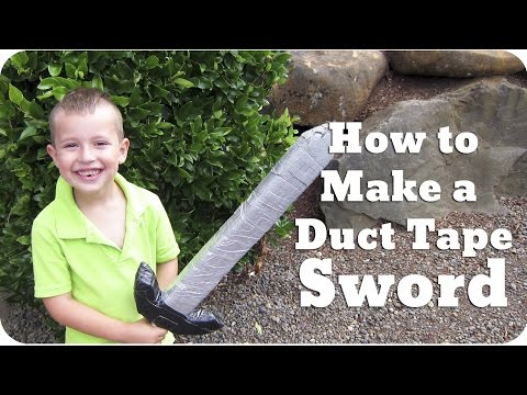 How to Make a Duct Tape Sword