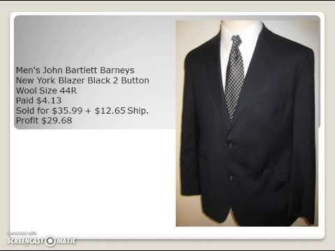 Make Money on eBay Selling Blazers, Sport Coats, and Suits