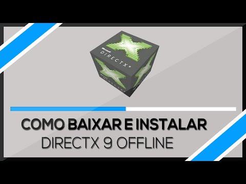 Como baixar e instalar Directx 9 instalador Offline