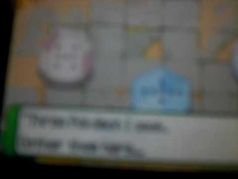 pokemon ranger 2 me catching regigigas part 1