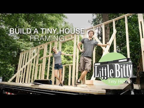 Build A Tiny House - Framing