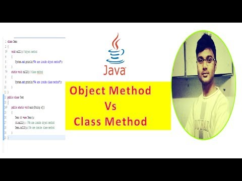Class Method VS Object Method In Java | How To Call Methods Explained | Java Technocrat [Hindi]