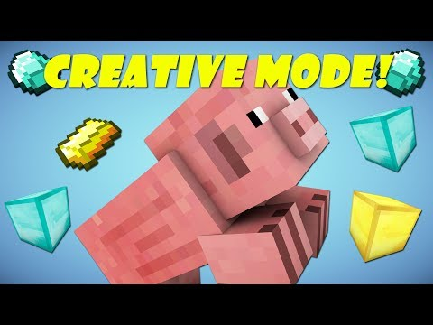 If Mobs Had Creative Mode - Minecraft