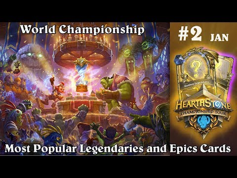 Legendaries and Epics Cards from World Championship Hearthstone Decks [FULL LISTS]