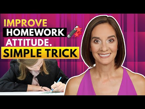 A Simple Trick for Getting Your Child in the Mood for Homework