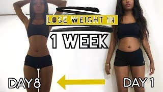Download HOW I LOST 15 POUNDS IN ONE WEEK | Lose weight fast Diet Journey Video