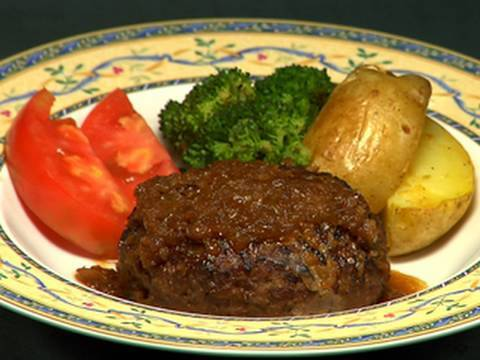 How to Make Hamburg Steak (Recipe) | Cooking with Dog