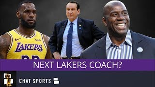 Top 10 Lakers Head Coach Candidates To Replace Luke Walton In 2019 (If He's Fired)