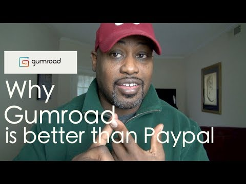 Why Gumroad is Better Than Paypal For Selling Digital Products | My 6 Month Review
